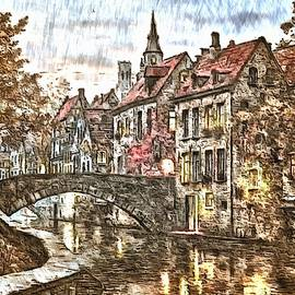 A View to Bruges by Mario Carini