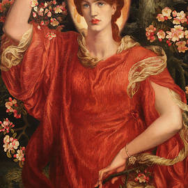 A Vision Of Fiammetta 1878 by Dante Gabriel Rossetti