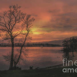A Windermere Sunset by Linsey Williams