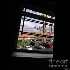 Through A Tilted Window In L. A. by Walter Neal