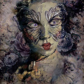 A Woman's Face Wears Many Masks by G Berry