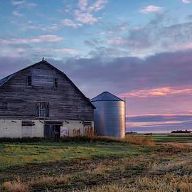 Abandoned Barn In Manitoba  by Harriet Feagin