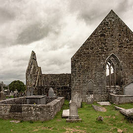 Abandoned Cemetery at Kilmacduagh Abbey by S Katz