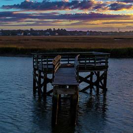 Abandoned Dock by Norma Brandsberg