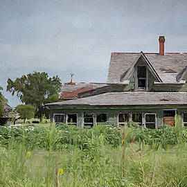 Abandoned in the Plains by Debra Martz