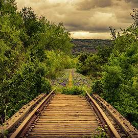 Abandoned Railroad by David Morefield