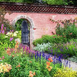 Abby Aldrich Rockefeller Garden - Flowers Along the Path by Anita Pollak