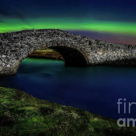 Aberffraw Bridge Anglesey by Adrian Evans