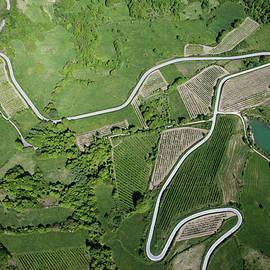 Abruzzo Aerial View by Seraficus
