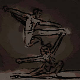 Abstract Dancers - Dwp1850711 by Dean Wittle