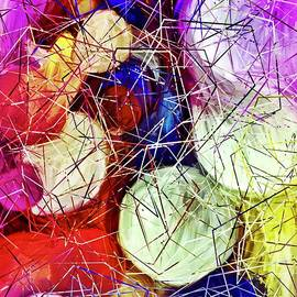 Abstract Decorative Art- Spheres by Laurie Cairone