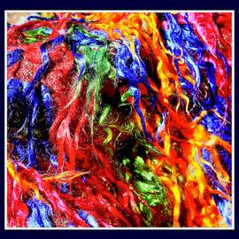 Abstract fabric  -  4234 by Panos Pliassas