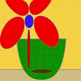 Abstract Floral Art 426 by Miss Pet Sitter