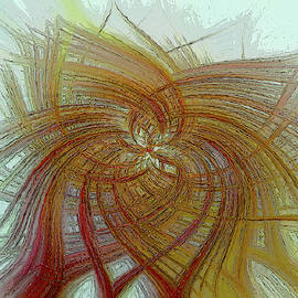 Abstract Flower by Edward Gold
