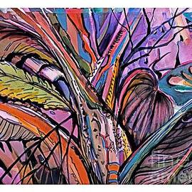 Abstract Fronds by Mindy Newman