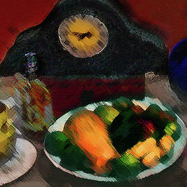 Abstract Fruit Art   140 by Miss Pet Sitter