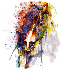 Abstract Horse Head by Marian Voicu