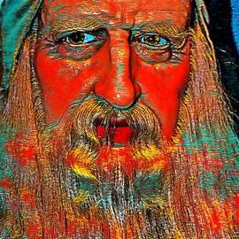 Abstract Leonardo by Don Columbus