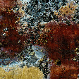 Abstract Paint on a Wall by S Katz