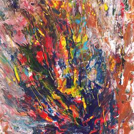Abstract Peacock by Asha Sudhaker Shenoy