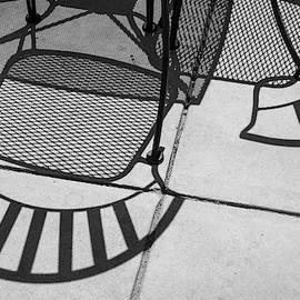 Abstract Shadows IV BW by David Gordon
