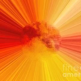 Abstract Summer Sun by Debra Lynch