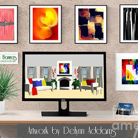 Abstract Wall Art Bundle By Delynn Addams by Delynn Addams