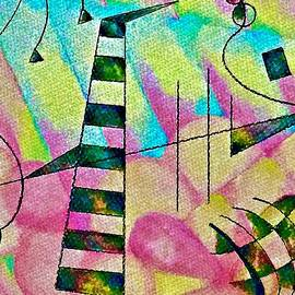 Abstract Xylophone by Laurie Cairone