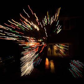 Abstracted Christmas - Luminous Fairy Lights Patterns by Georgia Mizuleva