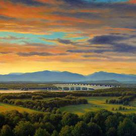 Across The Hudson by Barry DeBaun