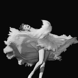 Actress Lucille Ball Dancing In Scene by John Florea