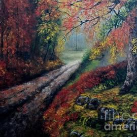 Adirondack Morning by Kristen Palmer