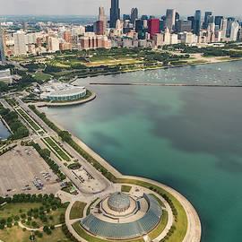 Adam Romanowicz - Adler Planetarium, Shedd, and Chicago Skyline
