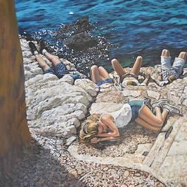 Adriatic Sun by Dan Remmel