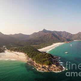 Aerial Panorama Of Sai Kung Area In Hong Kong by Didier Marti