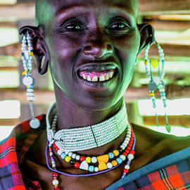 African Maasai Teacher 4256 by Amyn Nasser Photographer - Neptune
