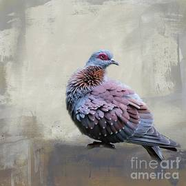 African Rock Pigeon by Eva Lechner
