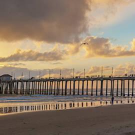 After The Storm Huntington Beach by Cliff Wassmann