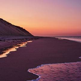 Afterglow Over The National Seashore by Karen Regan