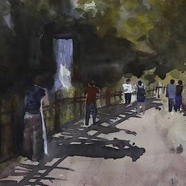 Afternoon near Minnehaha Falls by Mary Deziel