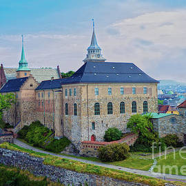 Akershus Fortress in Oslo by Catherine Sherman