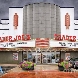 Alabama Theatre and Trader Joe by Norman Gabitzsch