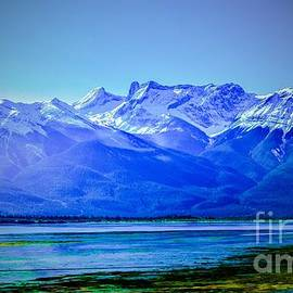 Alberta Rockies Vista by Gary F Richards