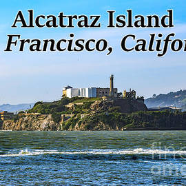 Alcatraz Island, San Francisco, California by G Matthew Laughton