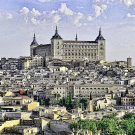 Alcazar - Toledo Spain by Allen Beatty
