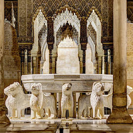 Alhambra Court Of The Lions 03 by Weston Westmoreland
