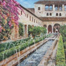 Alhambra, the Spectacular Castle by Helen Sviderskis