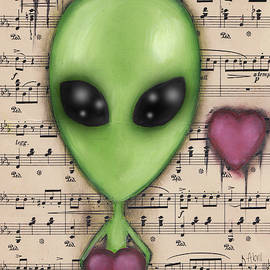 Abril Andrade Griffith - Alien Valentine