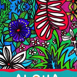 Aloha Card 1 by A Hillman