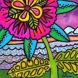 Aloha Card 2 by A Hillman